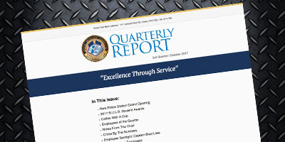 feature quarterly report